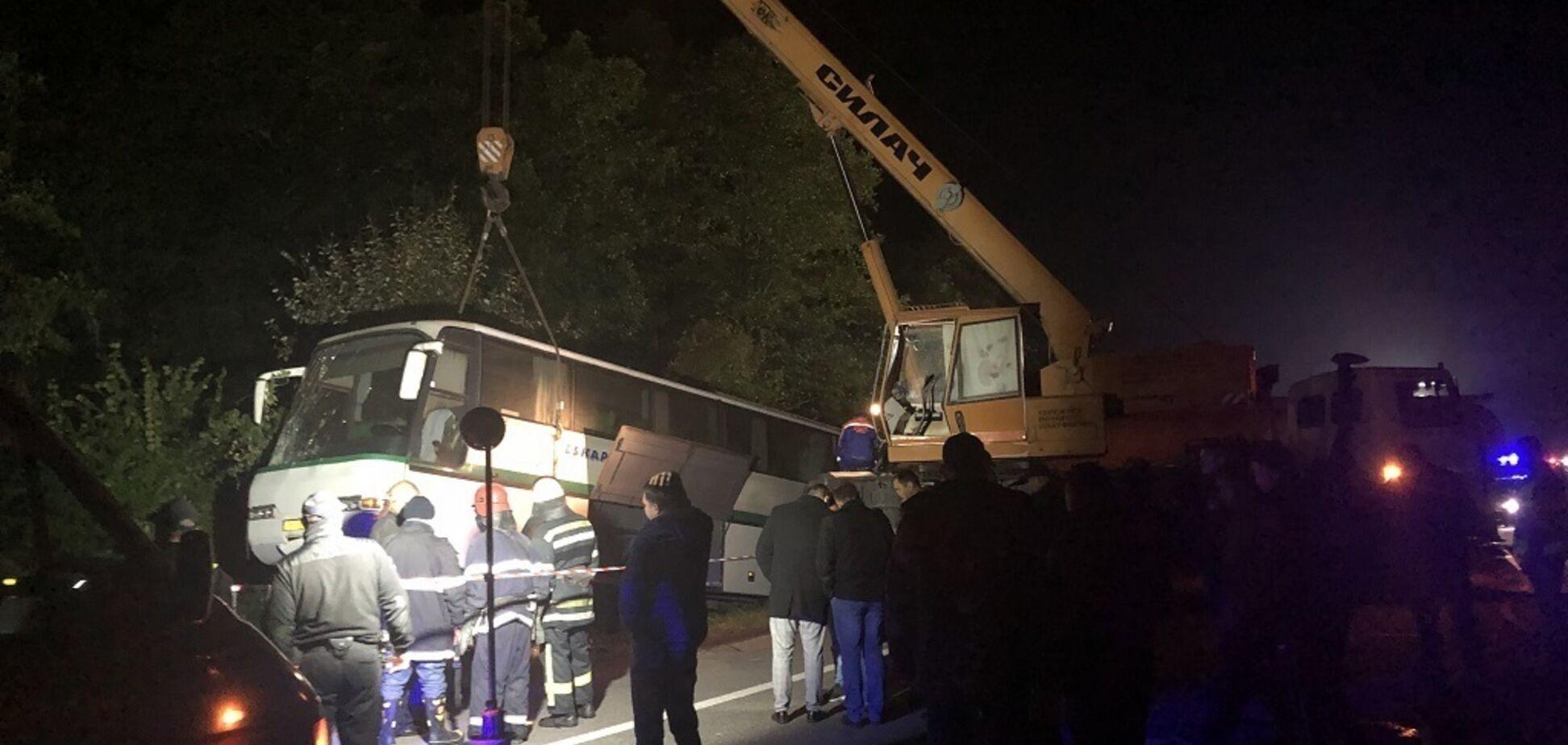 Масштабна ДТП на Житомирщині: названі імена 9 жертв. Відео 18+