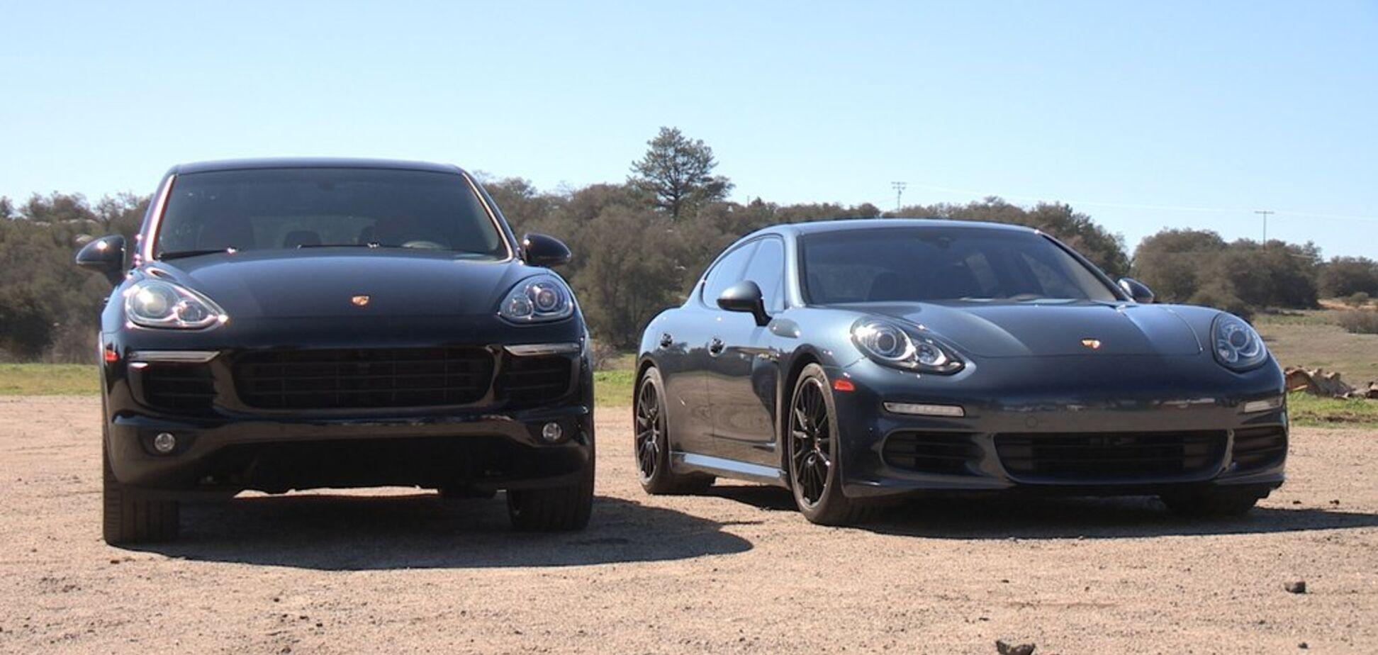 Знамениті Porsche Panamera і Cayenne стануть електричними: що про це відомо