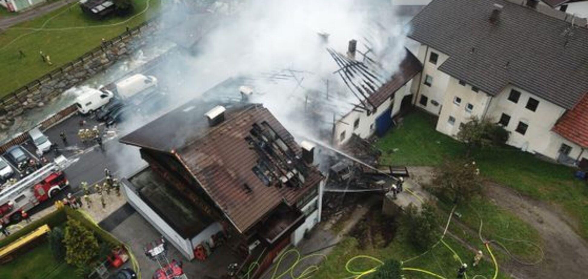 В Австрии взорвался магазин с людьми