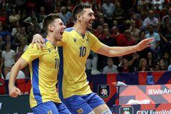 Украина – Сербия: где смотреть онлайн четвертьфинал чемпионата Европы по волейболу