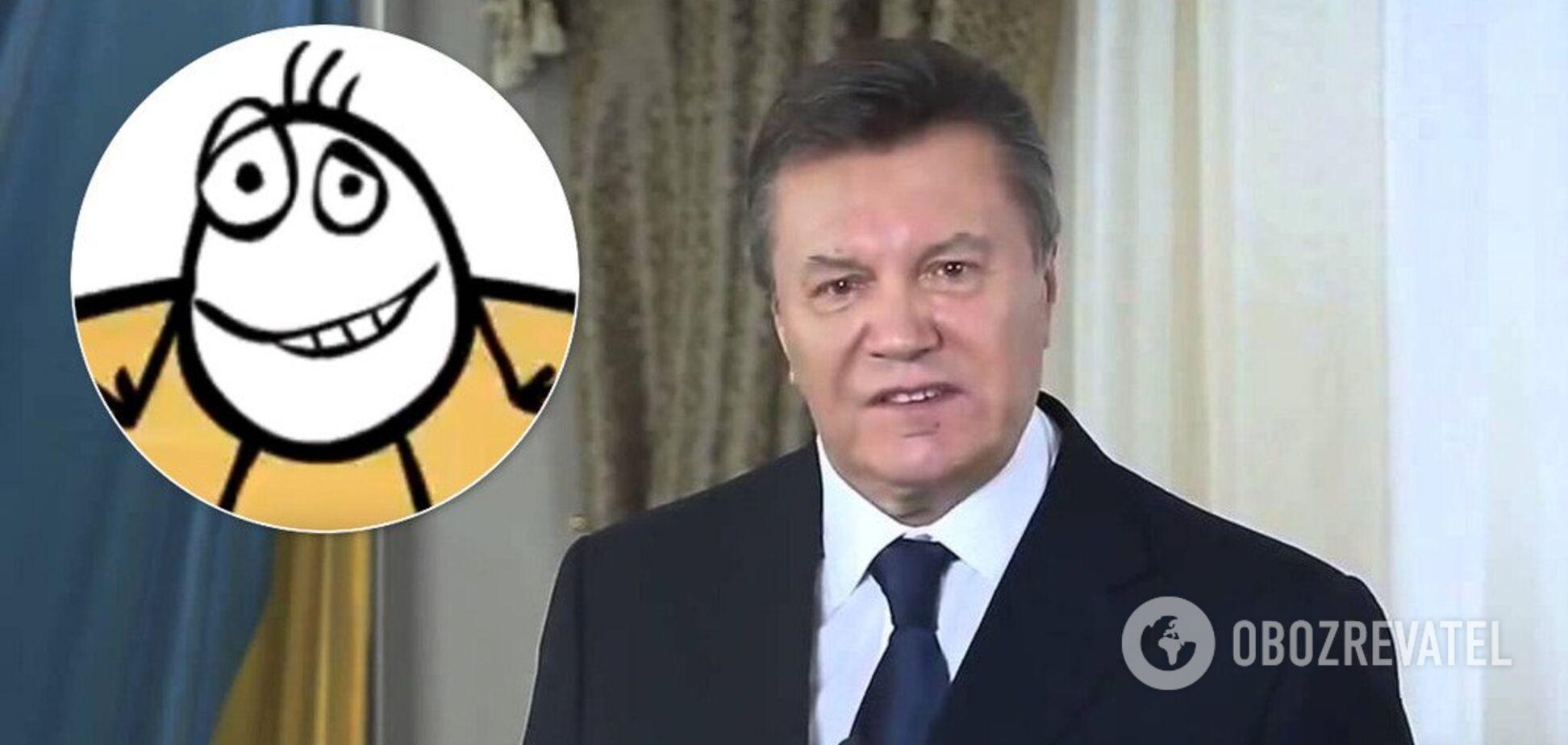 Как Януковича чуть не убило яйцо: всплыло знаменитое видео