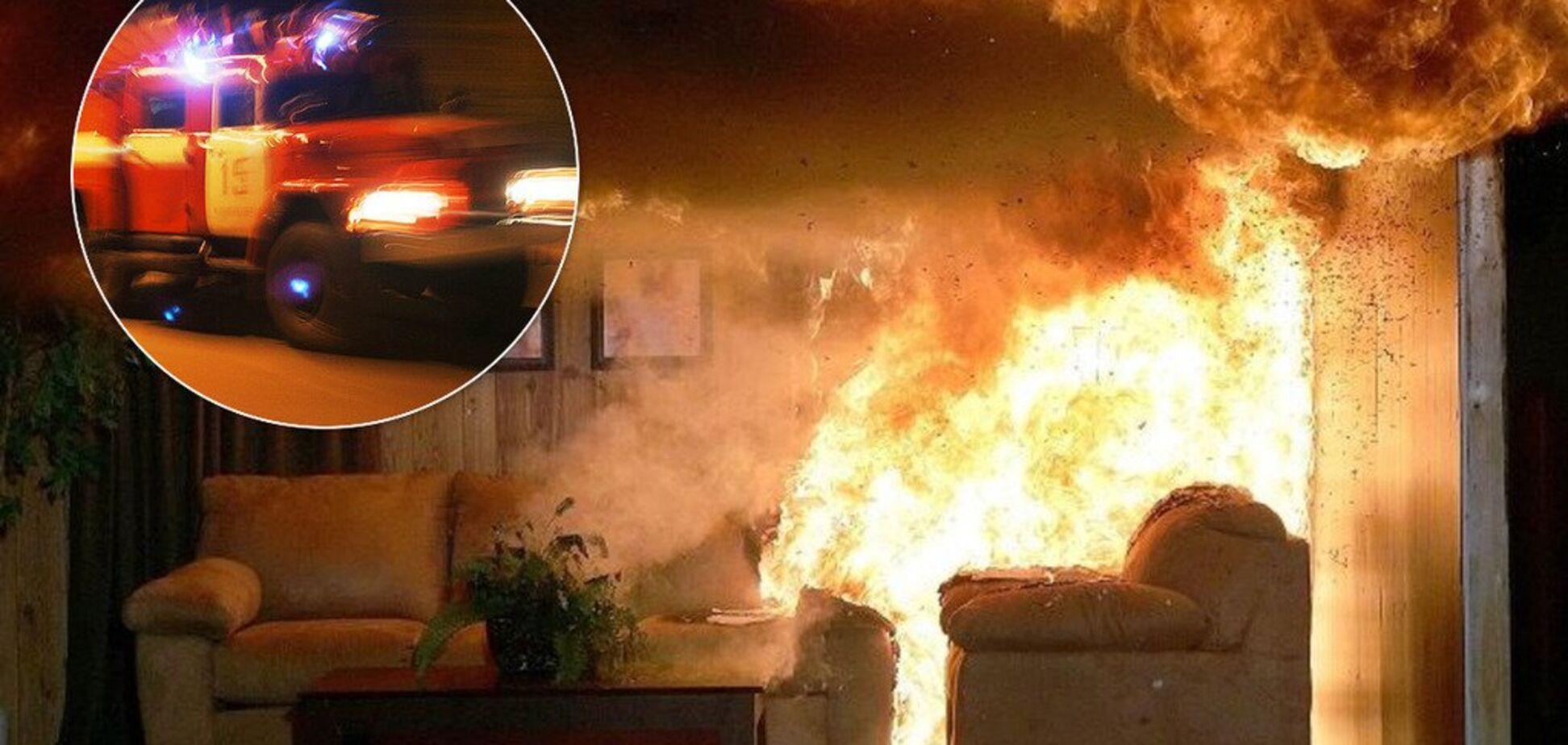 Под Днепром пожар в многоэтажке унес жизнь мужчины