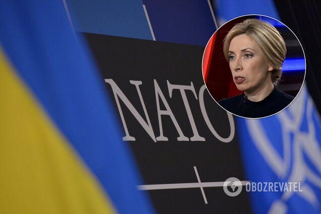 Верещук виступила проти вступу України в НАТО