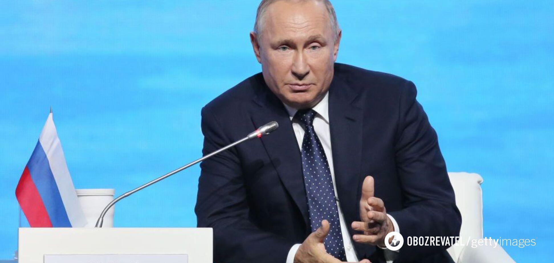 Путин. Слюнтяй, не слюнтяй?