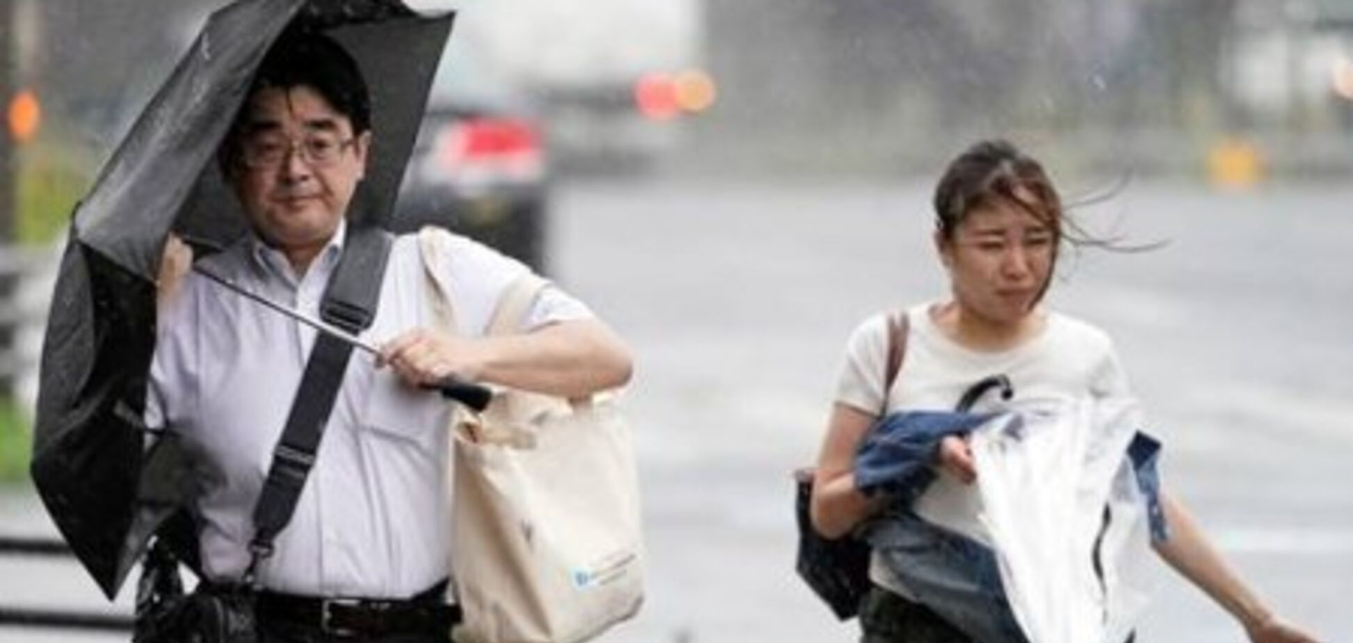 Тайфун Тапа в Японії