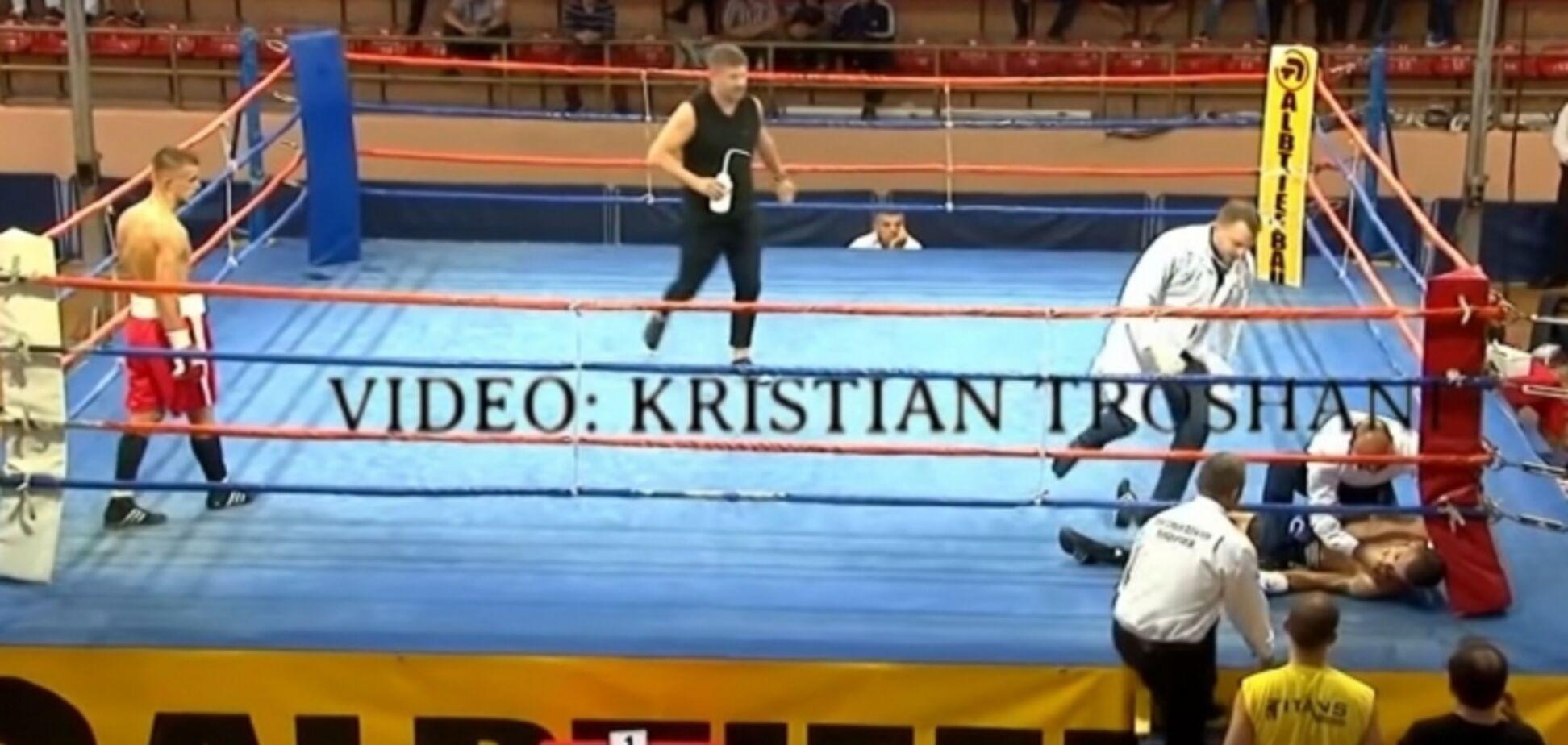Боксер вышел на бой под чужим именем и умер: момент смерти попал на видео