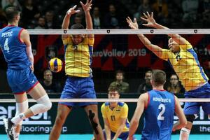 Сборная Украины драматично проиграла в историческом матче на ЧЕ по волейболу-2019