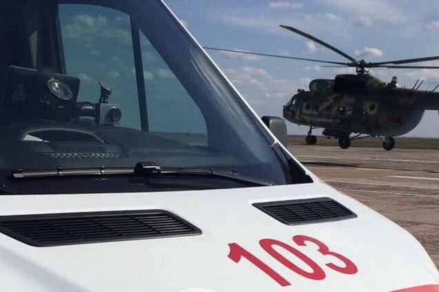У Дніпро евакуювали двох бійців з травмами