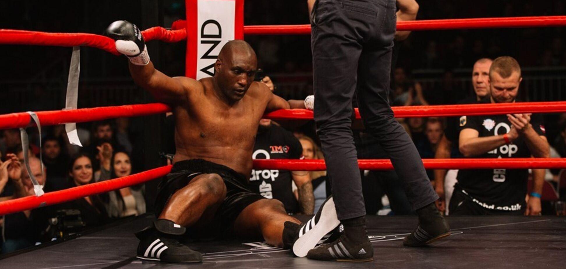 Боксера, який побив Майка Тайсона, нокаутували першим же ударом