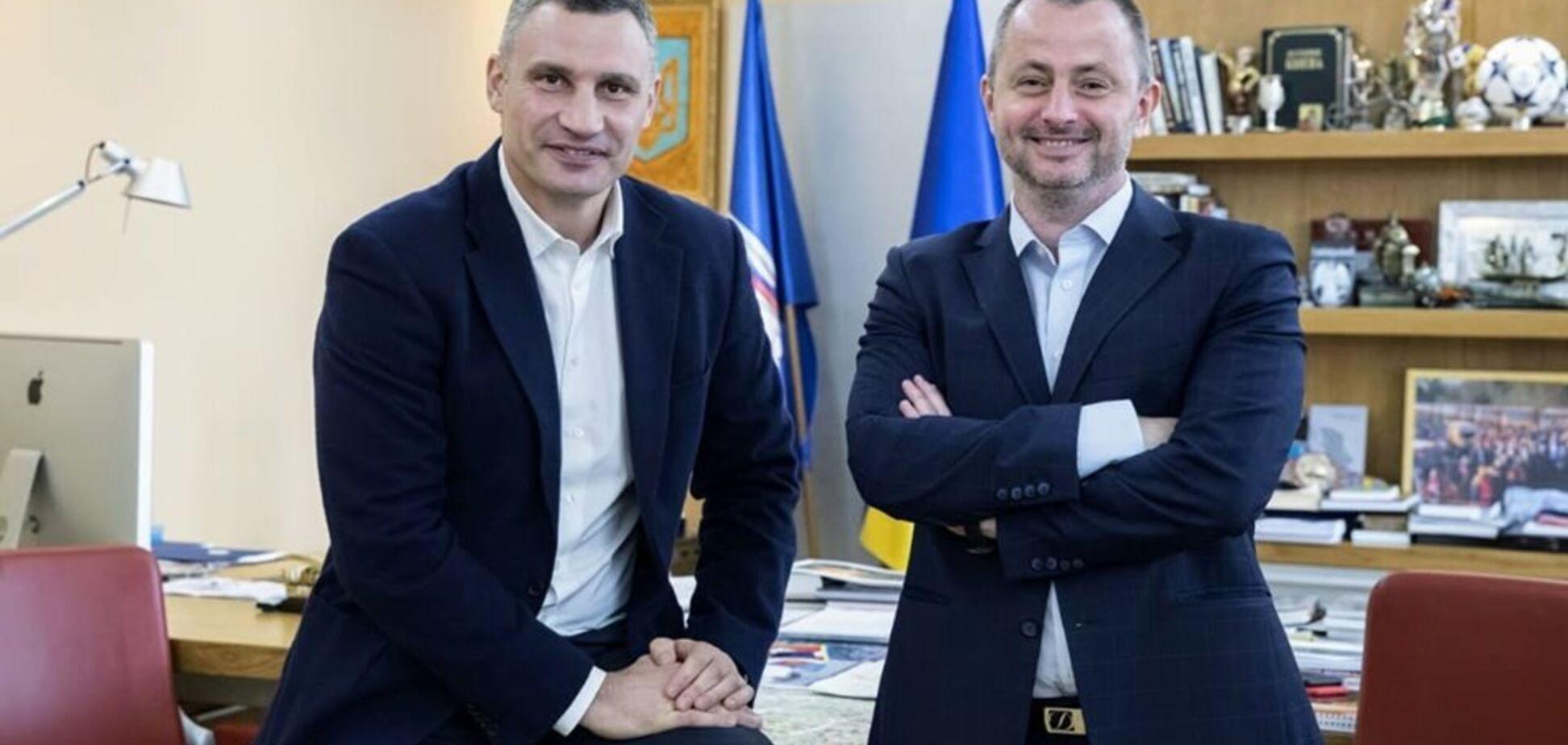 Віталій Кличко і Максим Бахматов