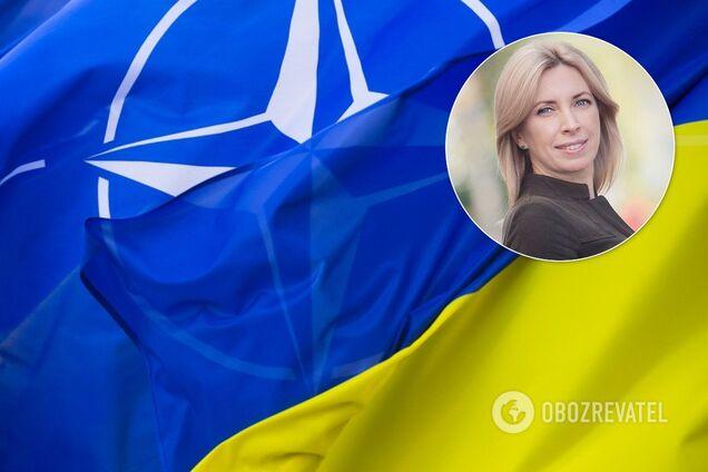 """Депутатка від """"Слуги народу"""" виправдалась за скандал із НАТО"""