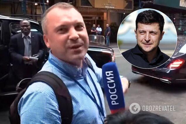"""Пропагандист """"Россия 1"""" і Зеленський"""