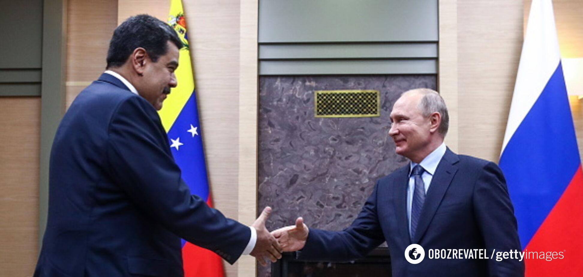 Мадуро прилетел 'на поклон' к Путину