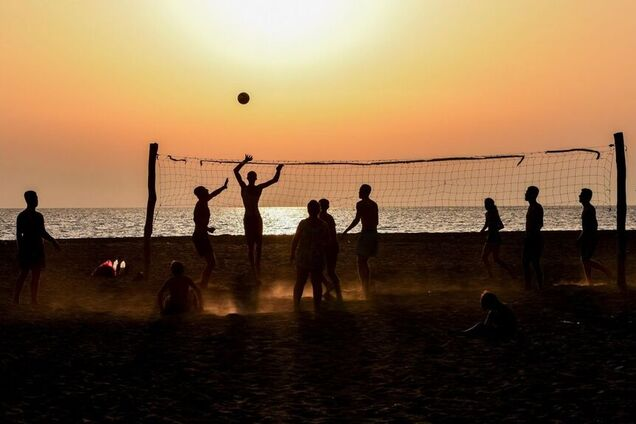 Пляжний волейбол