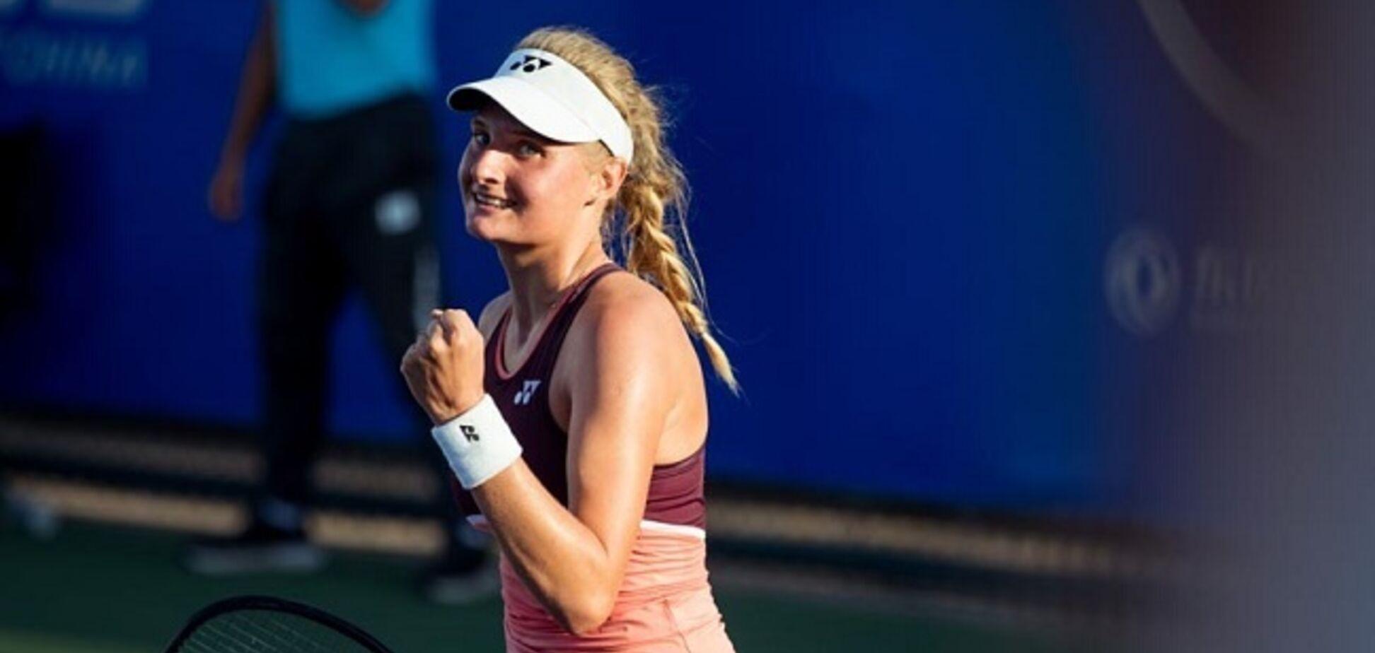 Сенсация: юная украинская теннисистка разгромила вторую ракетку мира