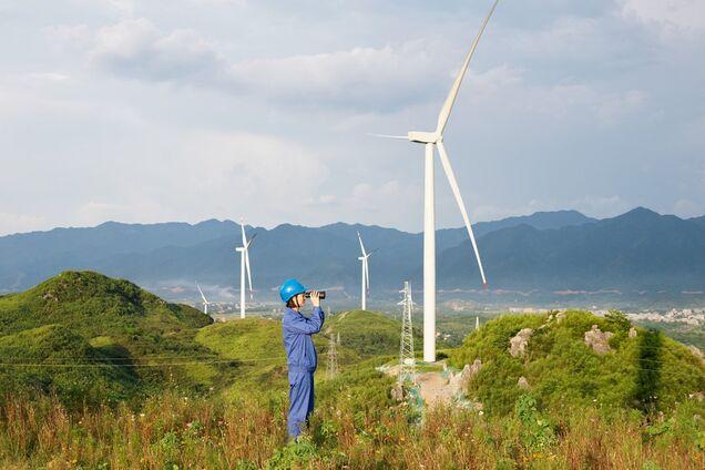 Китайская ветроэлектростанция Concord Jing Tang в провинции Хунань