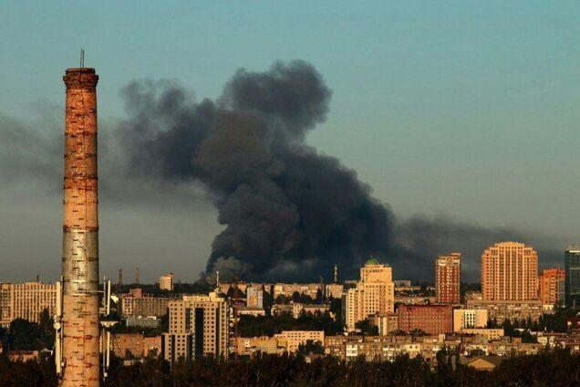 Пожежа в Донецьку: розкрилася правда