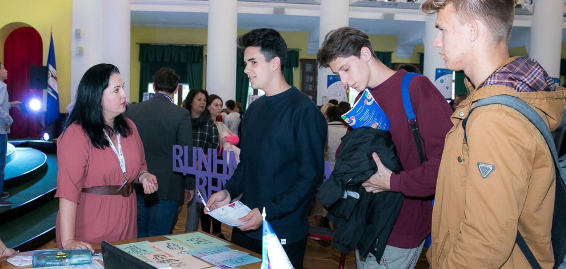 В Киеве МАН открыл старт 'сезона поисков и научных открытий' среди учащейся молодежи