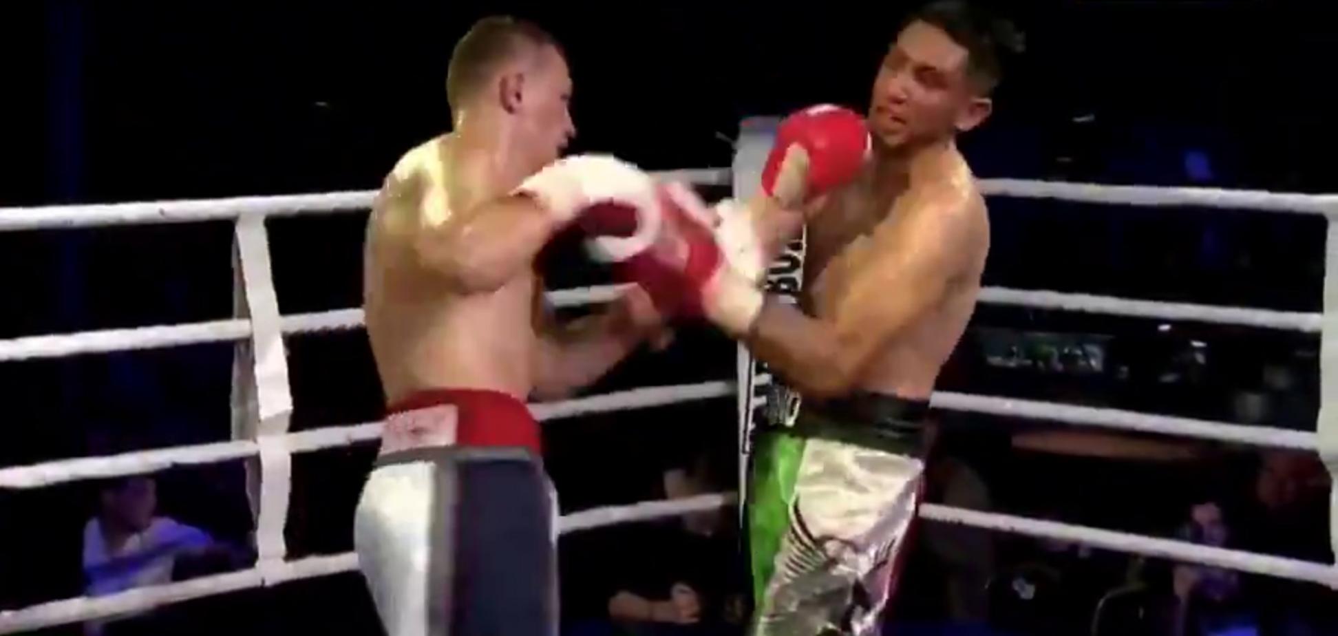 Известный украинский боксер добыл победу кровавым нокаутом - опубликовано видео