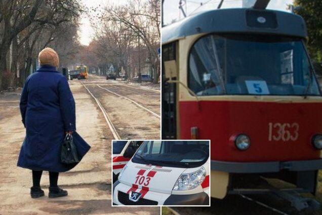 У Дніпрі жінка померла на трамвайній зупинці