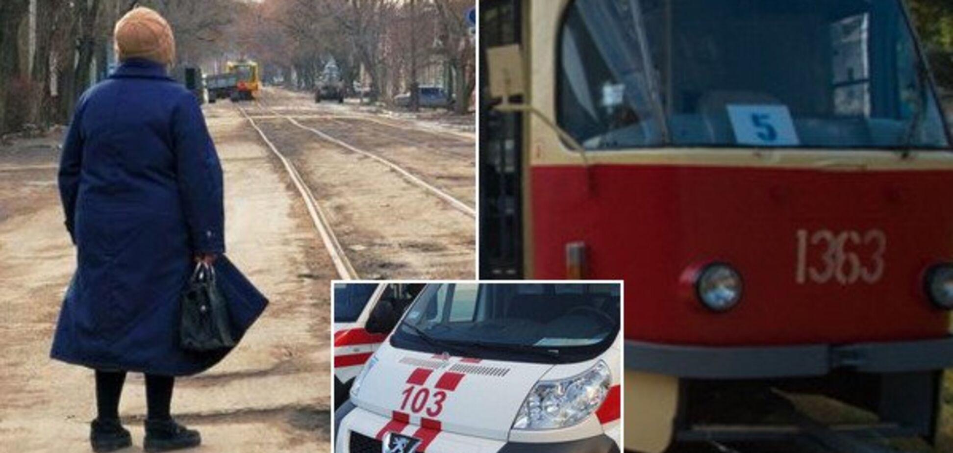 Хотіла наздогнати: в Дніпрі на трамвайній зупинці померла жінка