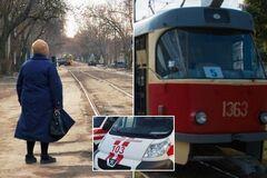 Упала замертво: в Днепре на трамвайной остановке <strong>скончалась женщина</strong>