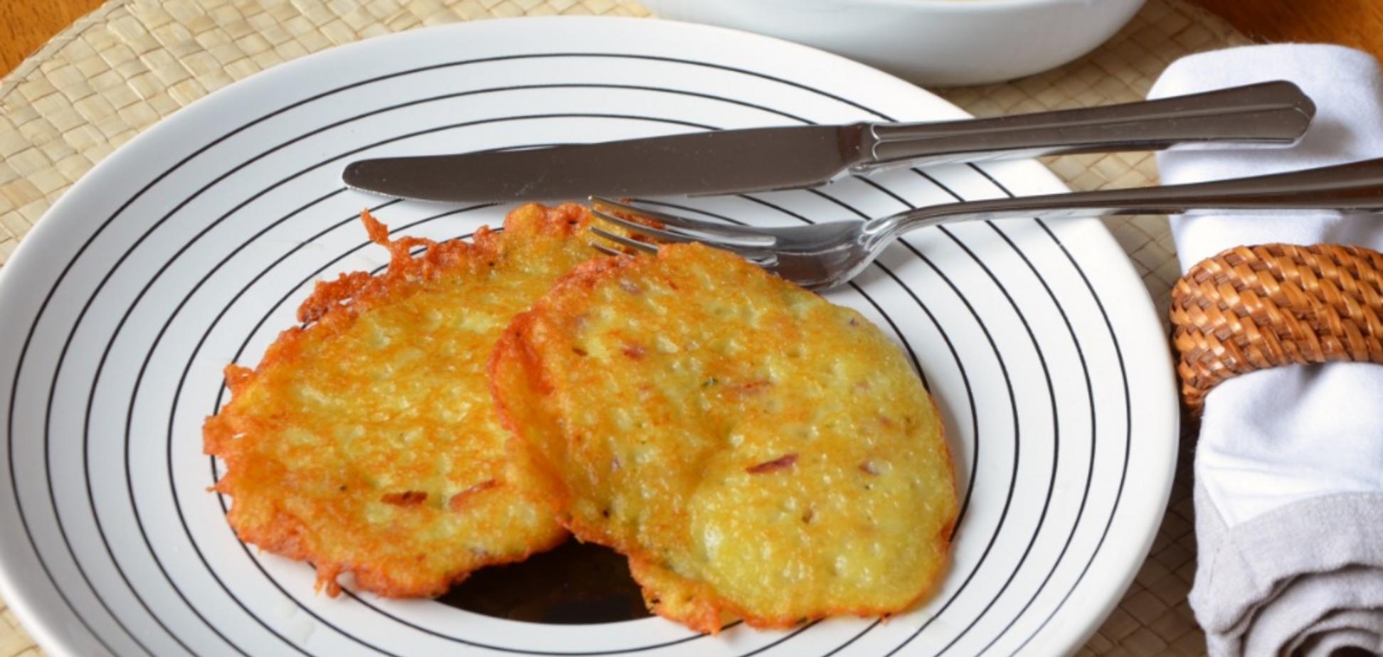 Рецепт самых вкусных картофельных оладий