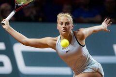17-летняя украинская теннисистка вышла в полуфинал турнира в Испании