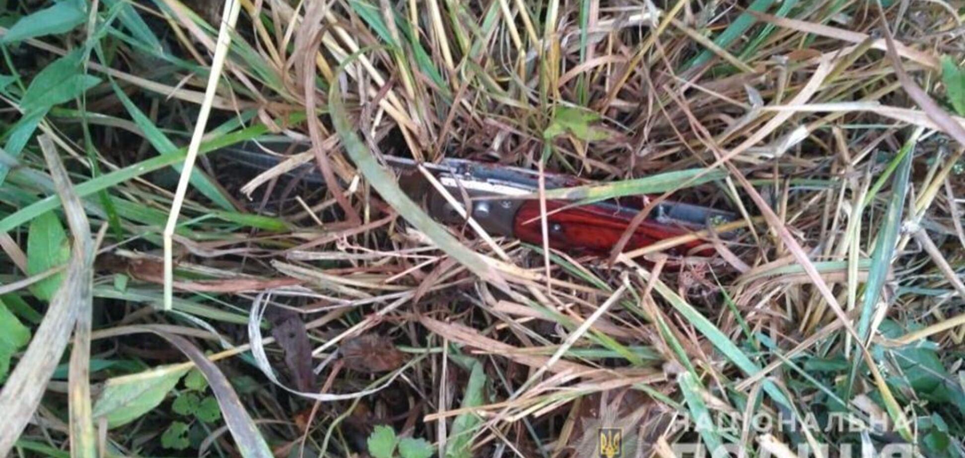 Поранив ножем трьох: на Київщині біля АЗС трапилася НП