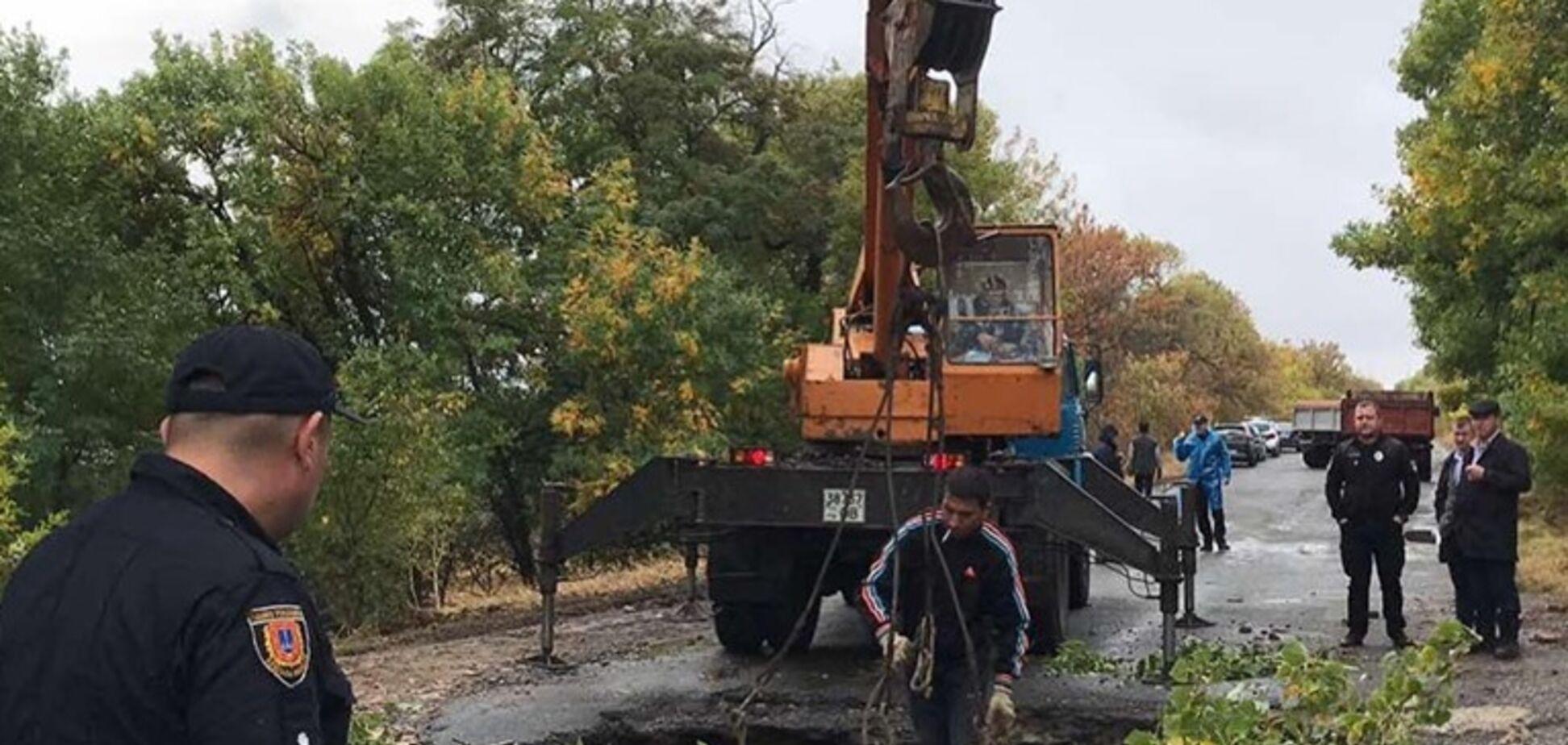 На Одесщине рухнул мост: фото и видео жуткого ЧП