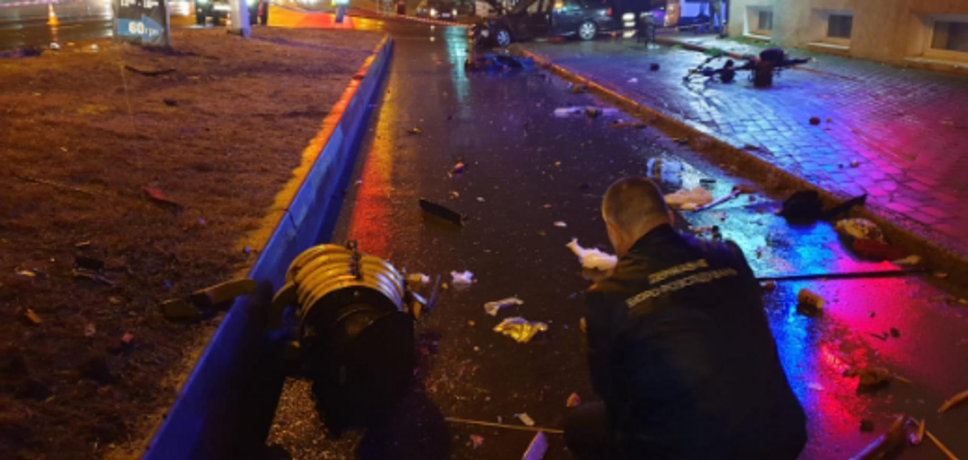 ДТП під Києвом з поліцейським