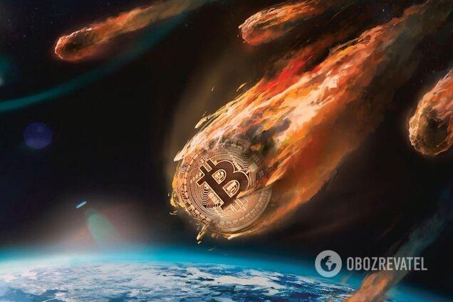 btk0 - Биткоин рухнул: рынок криптовалют обвалился из-за неожиданного поворота
