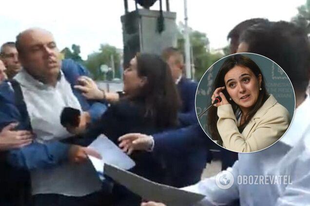 Журналист рассказал, как его атаковала Мендель