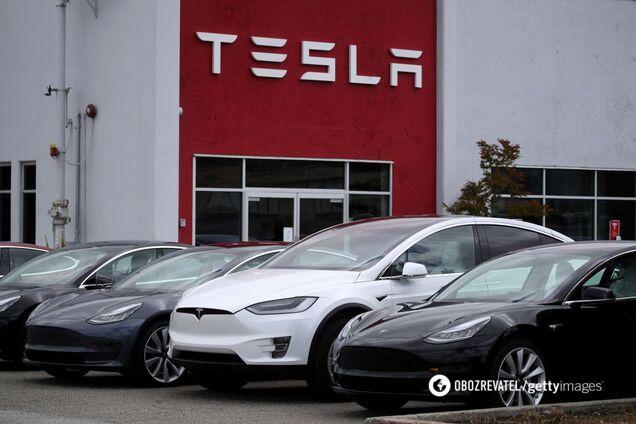 Tesla поставила рекорд з продажу авто
