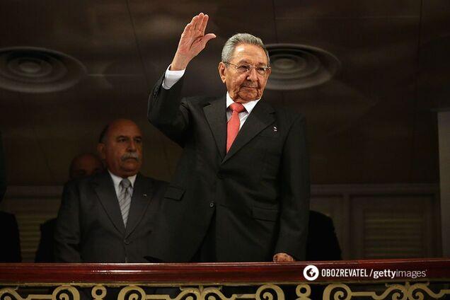Адміністрація США ввела санкції проти лідера правлячої Комуністичної партії Куби Рауля Кастро