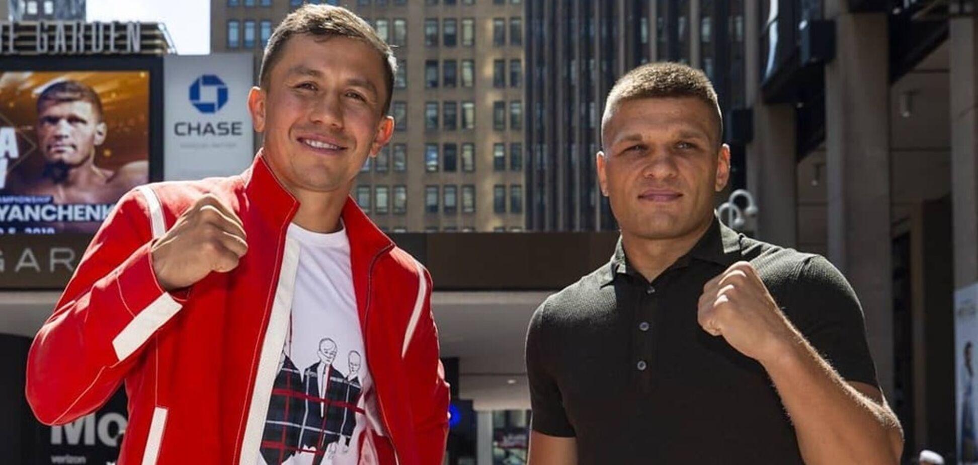 Головкін – Дерев'янченко: де дивитися онлайн чемпіонський бій
