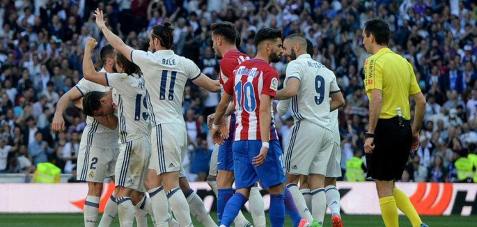 Атлетико – Реал: где смотреть матч чемпионата Испании