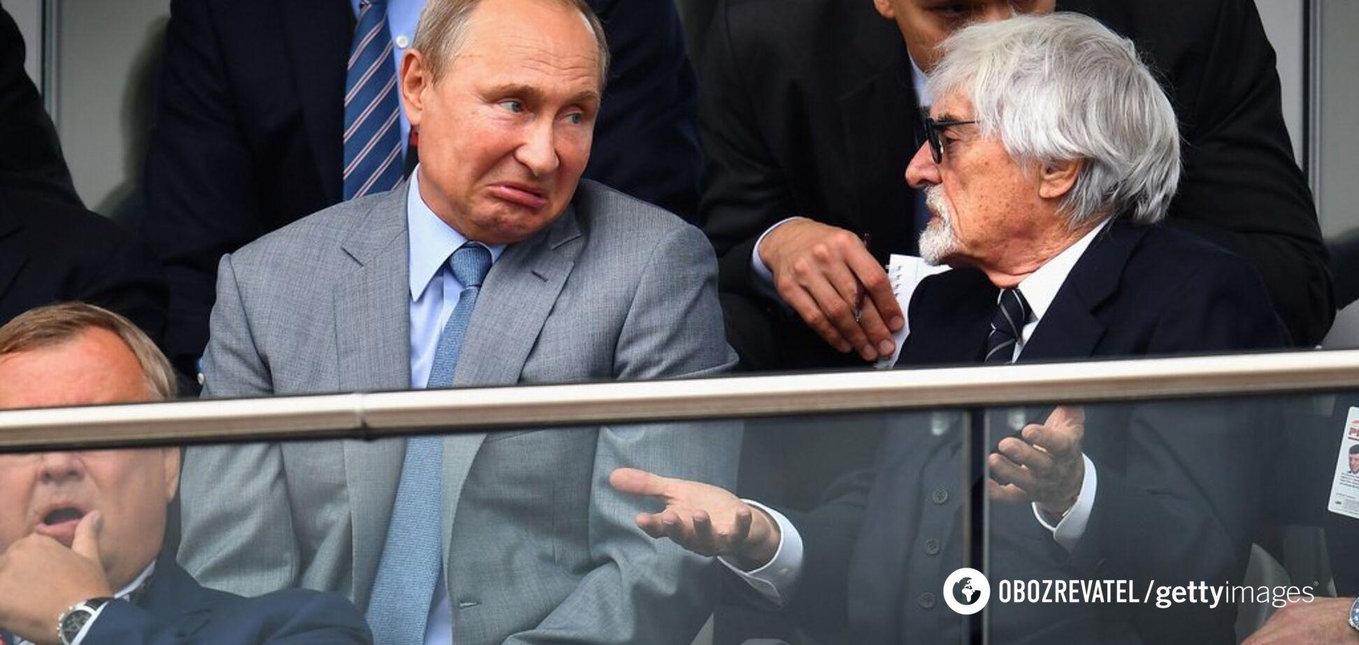 'Жаль, что Путин не захватит Европу': президент Формулы-1 шокировал признанием