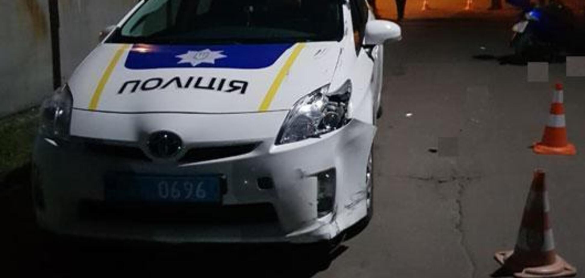 Під Черніговом поліцейські потрапили в ДТП: є постраждалі