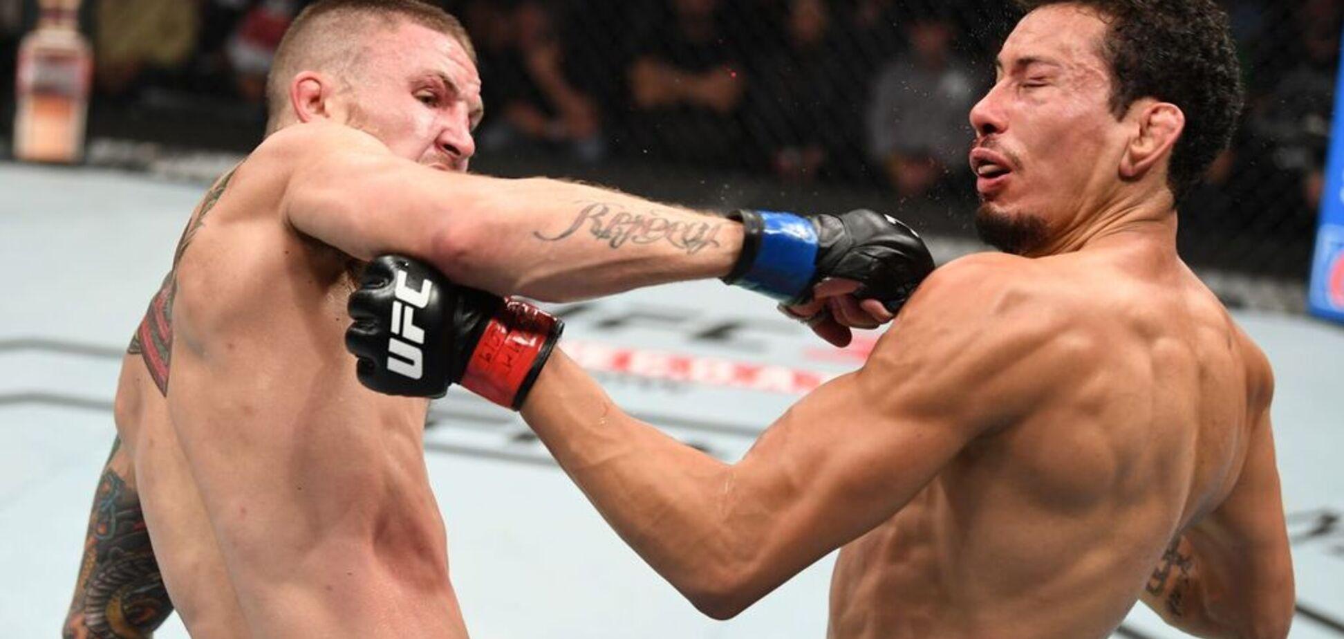 Боец UFC редчайшим ударом отправил соперника в кошмарный нокаут