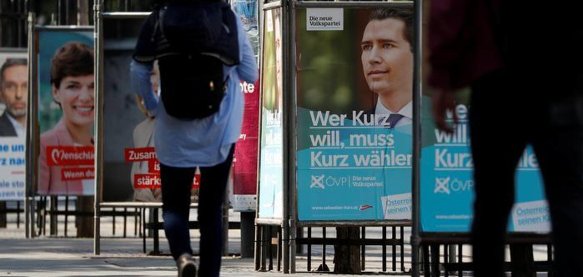 Друг Путина побеждает на выборах в Австрии после скандала с РФ