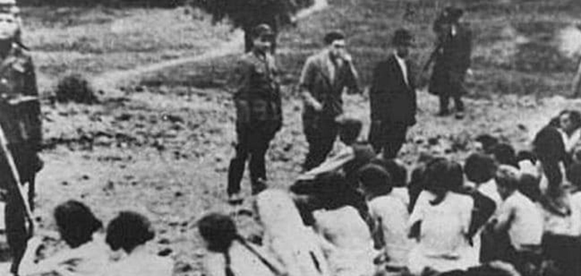 Бабий Яр 1941: Шеренга. Выстрелы. Смерть