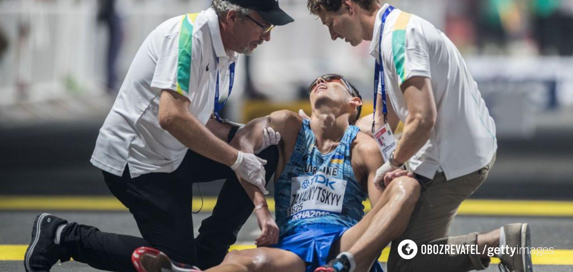 Чемпиона Европы из Украины после финиша увезли в реанимацию: что случилось