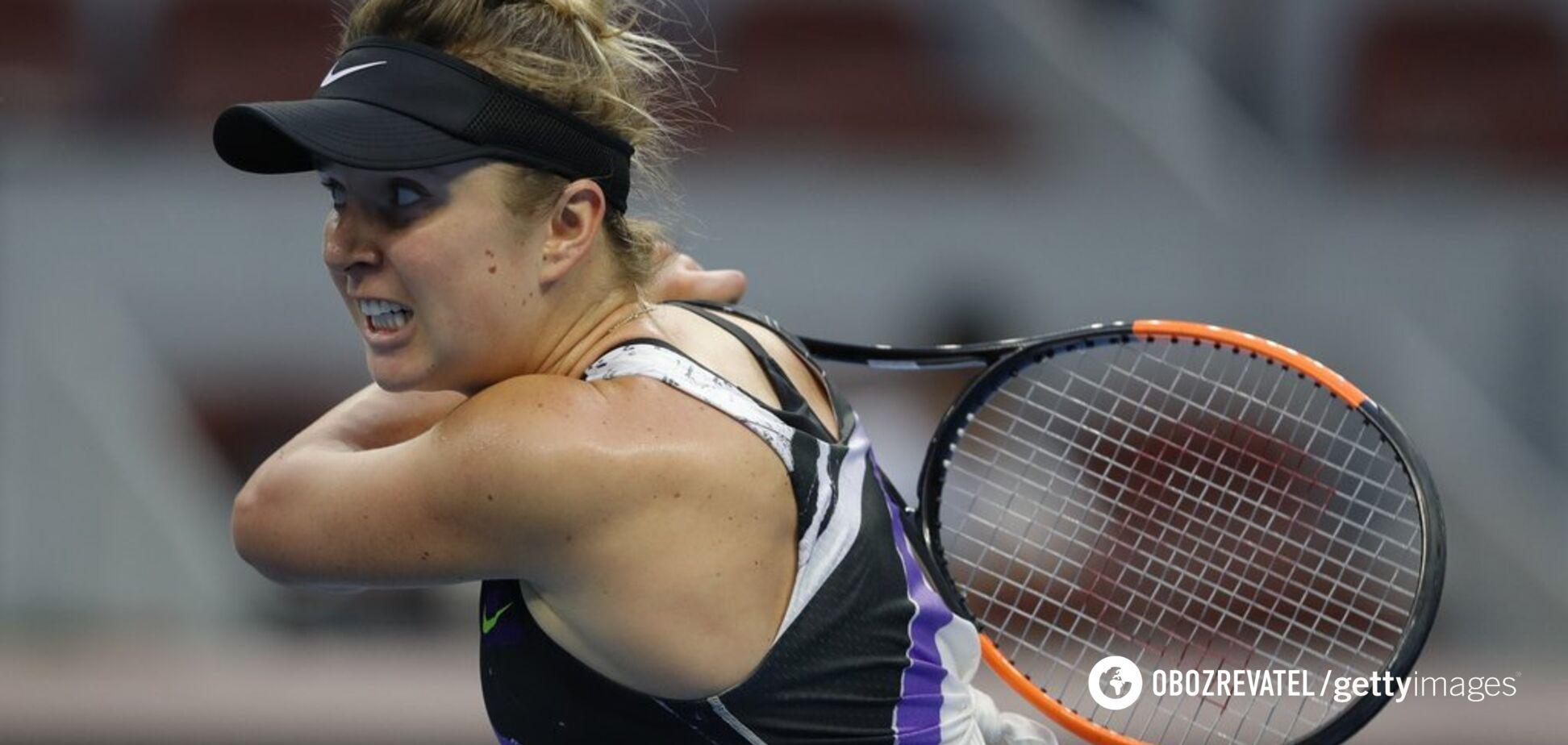 Світоліна перевернула матч і здобула драматичну перемогу на турнірі в Китаї