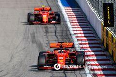 Гран-при России завершился <strong>катастрофой</strong> для Ferrari