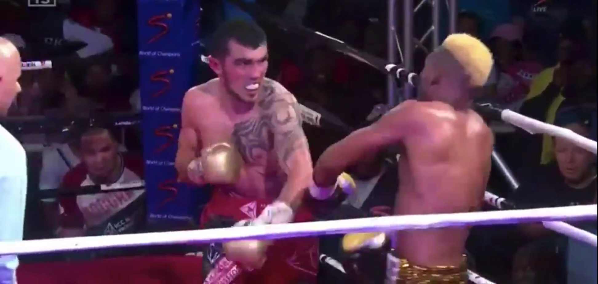 Непереможного боксера відправили в брутальний нокаут — опубліковано відео