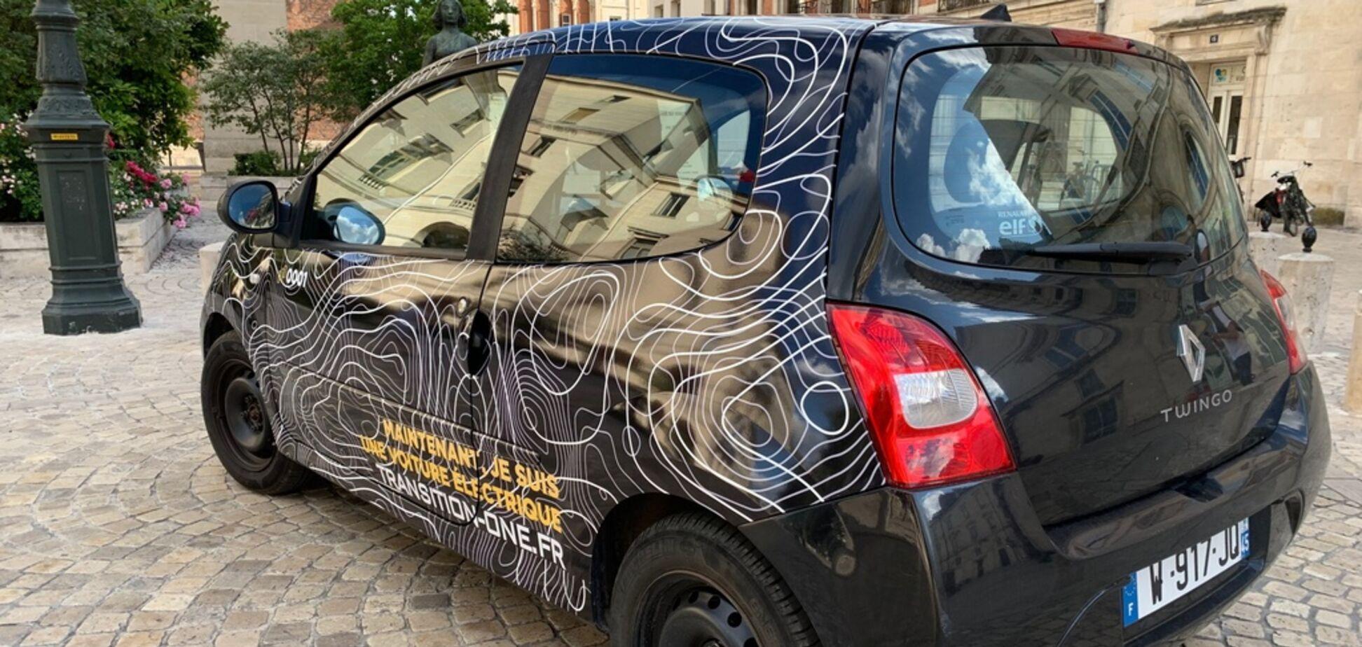 У Франції почали робити електромобілі зі старих авто