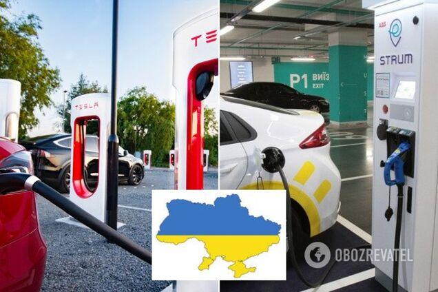 Зарядні EV-станції в Україні
