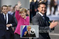 Небезпечна пастка: як і чому Путін затягує зустріч лідерів 'нормандської четвірки'