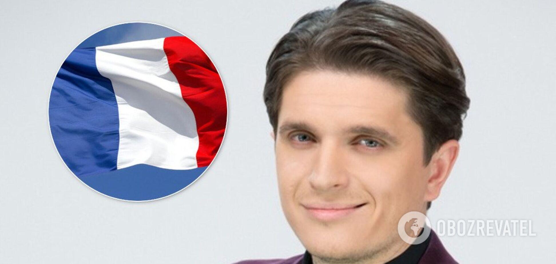 'Триколор на руке': популярный украинский ведущий попал в нелепую ситуацию из-за флага